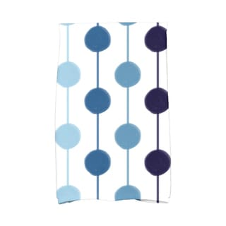 Brady Beads Stripe Print Hand Towel