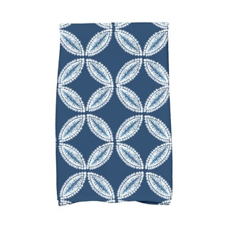 Tidepool Geometric Print Hand Towel