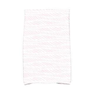 Rolling Waves Geometric Print Hand Towel
