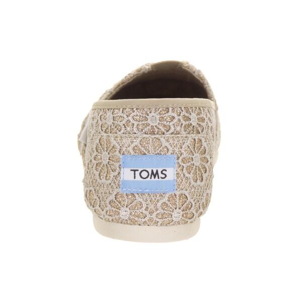 toms crochet glitter