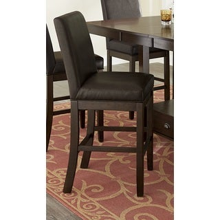 Progressive Spotlight Brown 2-piece Swivel Parson Counter Chair Set