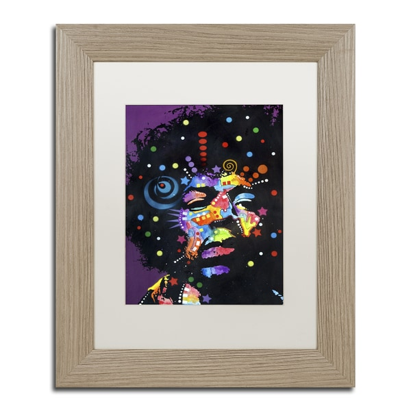 Dean Russo 'Jimi' Matted Framed Art