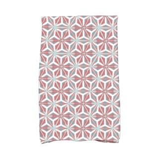 Water Mosaic Geometric Print Hand Towel