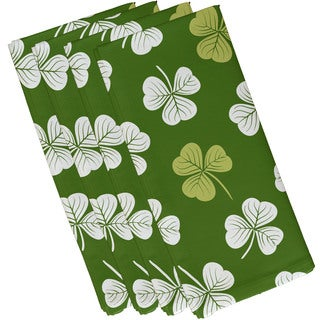 Lucky Holiday Floral Print Napkin (Set of 4)