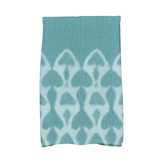 Watermark Geometric Print Hand Towel