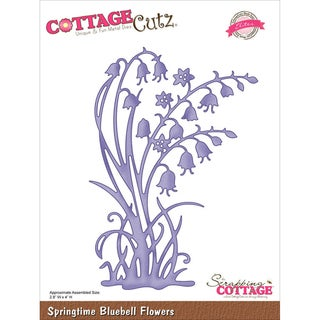 "CottageCutz Elites Die -Springtime Bluebell Flowers 2.8""X4"""