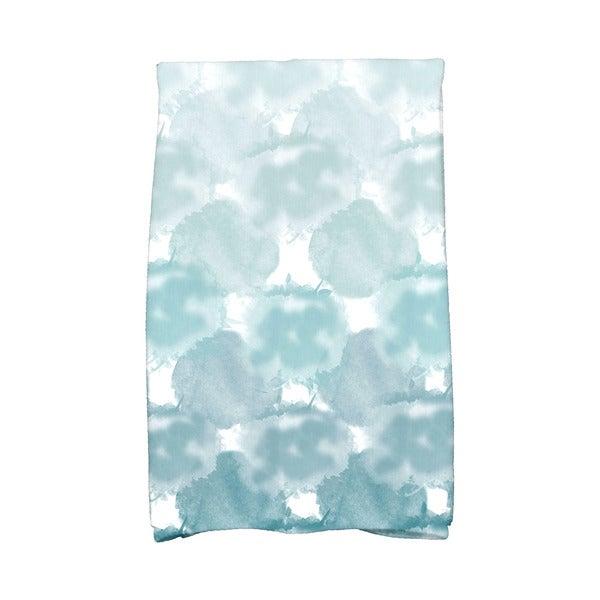 Beach Clouds Geometric Print Hand Towel