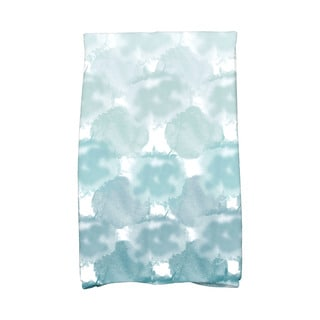 Beach Clouds Geometric Print Hand Towel