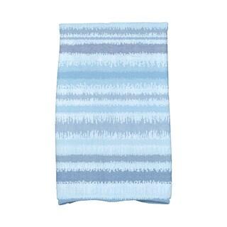 Raya De Agua Stripe Print Hand Towel