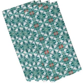 Beach Tile Geometric Print Napkin (Set of 4)