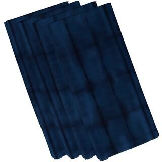 19-inch Pool Stripe Print Napkins (Set of 4)