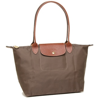 Longchamp Le Pliage Brown Nylon Foldable Tote Bag
