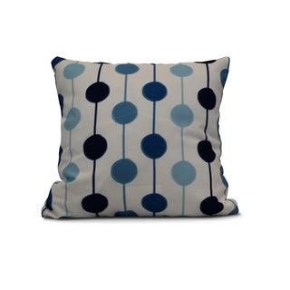 Brady Beads Stripe Print Outdoor Pillow