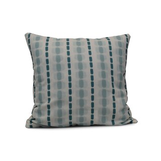 Watercolor Stripe Outdoor 16-inch Pillow