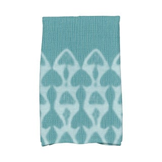 Watermark Geometric Print Kitchen Towel
