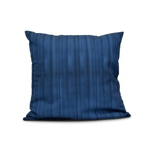 Pool, Stripe Print Pillow (16 x 16-inch)