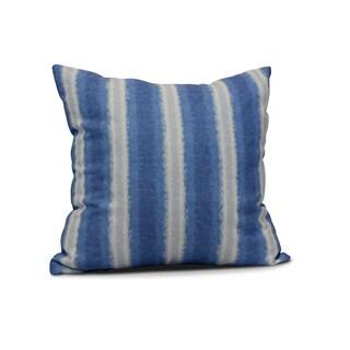 Sea Lines Stripe Print Pillow