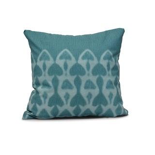 Watermark Geometric Print Pillow