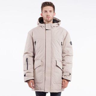 Doug Men's Beige Polyester Jacket
