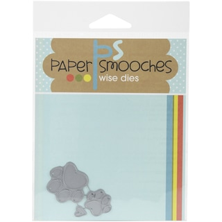 Paper Smooches Die-Paw Print