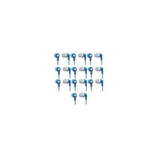 (10 PACK) Panasonic RP-HJE120-R ErgoFit In-Ear Earbud Headphones (Blue)