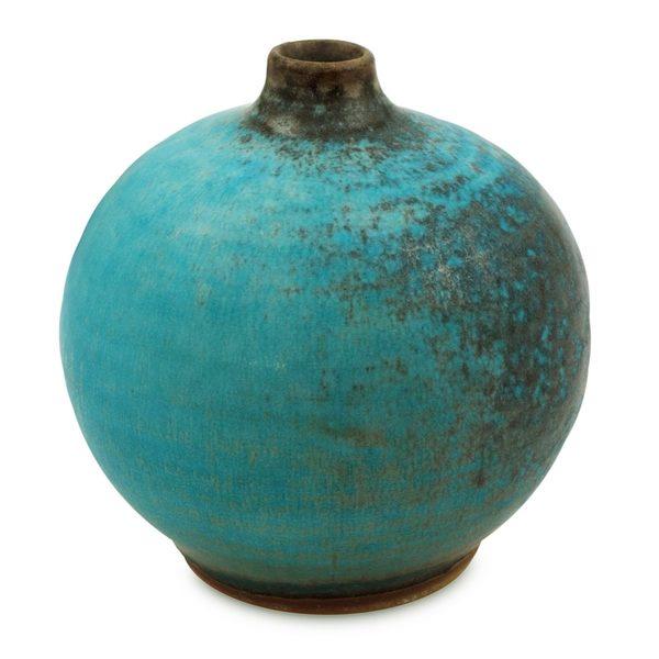 Shop Ceramic Vase Turquoise Realm Large Thailand Free