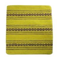 Handmade Zapotec Wool Cushion Cover, 'Zapotec Energy' (Mexico)