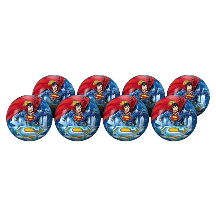 Hedstrom 6 Superman Deflatable Playballs Party Pack (#6 P...