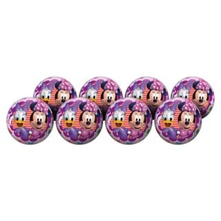 Hedstrom Minnie Mouse Multicolored Inflatable Playball Party Pack