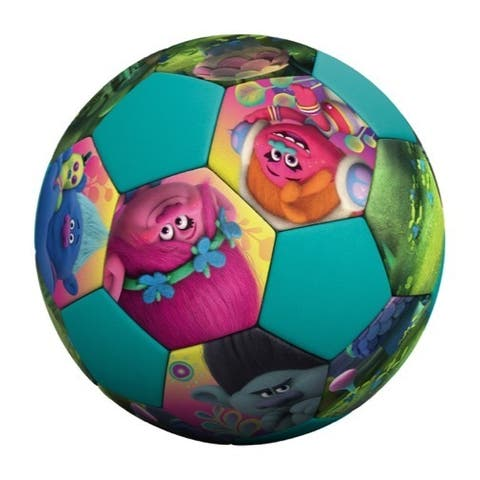 "Hedstrom Jr Athletic Trolls PVC Soccer Ball - 7"""