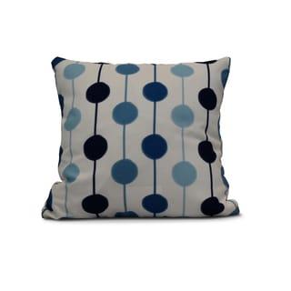 16-inch Brady Beads Stripe Print Pillow