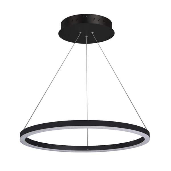 Vonn Lighting Vmc31640bl Tania 24 Inch Modern Circular