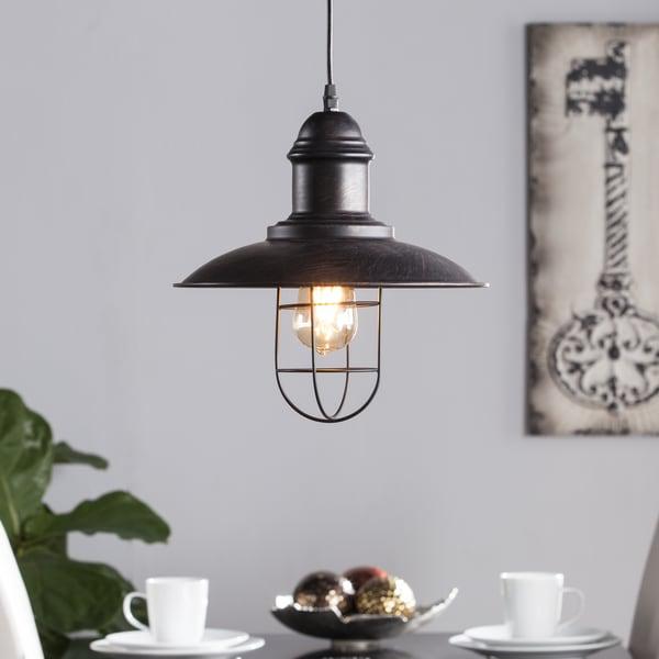Shop Harper Blvd Tessuinum Industrial Cage Pendant Lamp