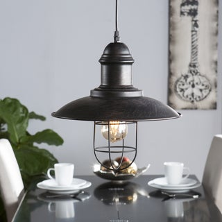 Harper Blvd Tessuinum Industrial Cage Pendant Lamp