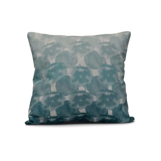 18-inch Beach Clouds Geometric Print Outdoor Pillow