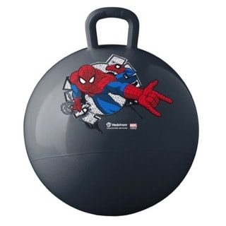 Hedstrom Ultimate Spiderman Multicolor Vinyl 15-inch Hopper