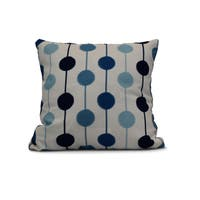 20-inch Brady Beads Stripe Print Outdoor Pillow