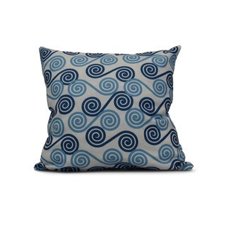 20-inch Rip Curl Geometric Print Outdoor Pillow
