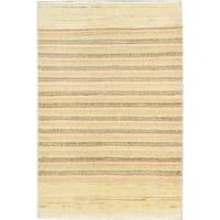 ecarpetgallery Peshawar Ziegler Blue Wool Rug (4'0 x 6'0)
