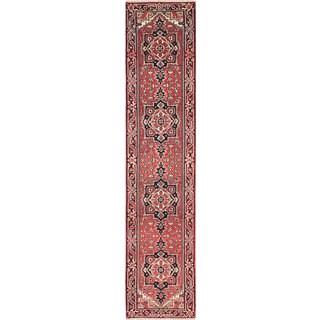 ecarpetgallery Serapi Heritage Red Wool Rug (2'7 x 11'10)