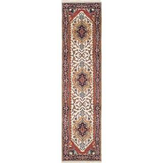 ecarpetgallery Serapi Heritage Blue Wool Rug (2'7 x 10'2)