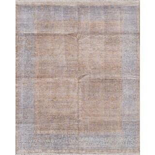 ecarpetgallery Parklane Ivory Bamboo Silk Rug (7'10 x 9'9)
