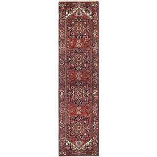 ecarpetgallery Serapi Heritage Red Wool Rug (2'8 x 10'3)