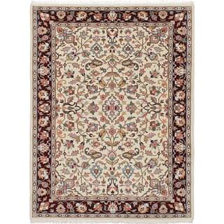 ecarpetgallery Kashmir Ivory Wool Rug