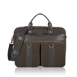 Solo Bradford Brown 15.6-in Laptop Briefcase