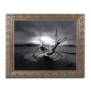 Philippe Sainte-Laudy 'Sun Voyager' Ornate Framed Art