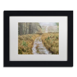 Cora Niele 'Path' Matted Framed Art