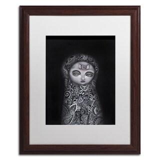Michael Blanchette Photography 'Granite Arrows' Matted Framed Art