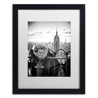 Philippe Hugonnard 'Look Manhattan' Matted Framed Art