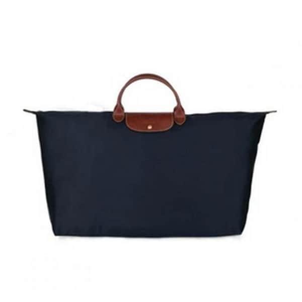 870251e319 Shop Longchamp Le Pliage Extra-Large Navy Foldable Tote Bag - Free ...